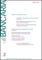 Immagine di Bancaria n. 2/2016