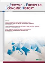 Immagine di The Journal of European Economic History - 2015 issue 1
