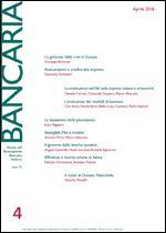 Immagine di Bancaria n. 4/2016