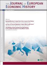 Immagine di Journal of European Economic History - 2014 issue 1 - 2