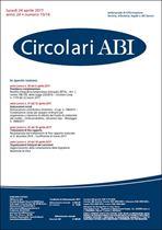 Immagine di Circolari ABI n.15-16 del 24 aprile 2017