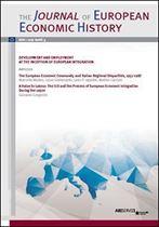 Immagine di Journal of European Economic History - 2017 issue 3