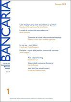 Immagine di Bancaria n. 1/2018