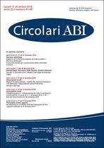 Immagine di Circolari ABI n. 47-48 del 31 dicembre 2018