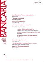 Immagine di Bancaria n. 1/2019