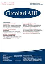 Immagine di Circolari ABI n. 47-48 del 23 dicembre 2019