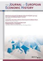Immagine di Journal of European Economic History - 2020 issue 1