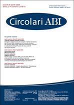 Immagine di Circolari ABI n. 13-14-15 del 20 aprile 2020