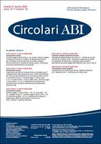 Immagine di Circolari ABI n. 16 del 27 aprile 2020