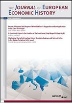 Immagine di Journal of European Economic History - 2020 issue 2