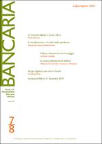 Immagine di Bancaria n. 7-8/2020