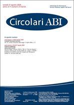 Immagine di Circolari ABI n. 31-32-33 del 31 agosto 2020