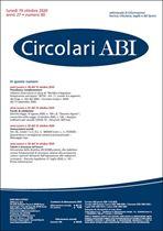 Immagine di Circolari ABI n. 40 del 19 ottobre 2020