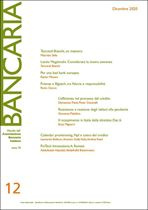 Immagine di Bancaria n. 12/2020