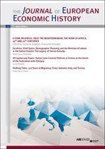 Immagine di Journal of European Economic History - 2021 issue 1