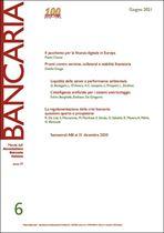 Immagine di Bancaria n. 6/2021
